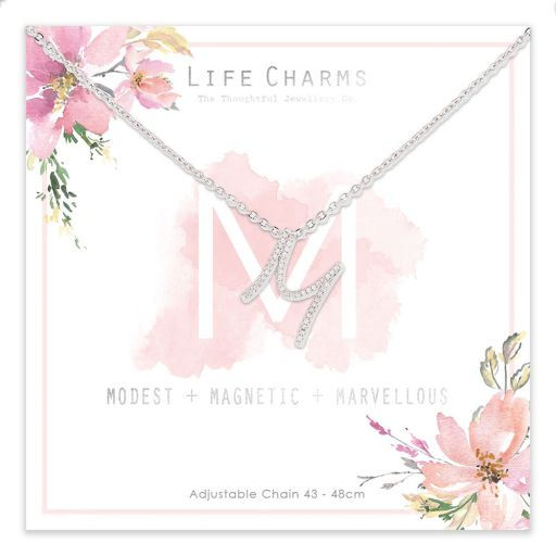 483013 - Life Charms - ANM - Collier - letter M