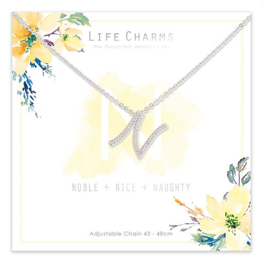 483014 - Life Charms - ANN - Collier - letter N