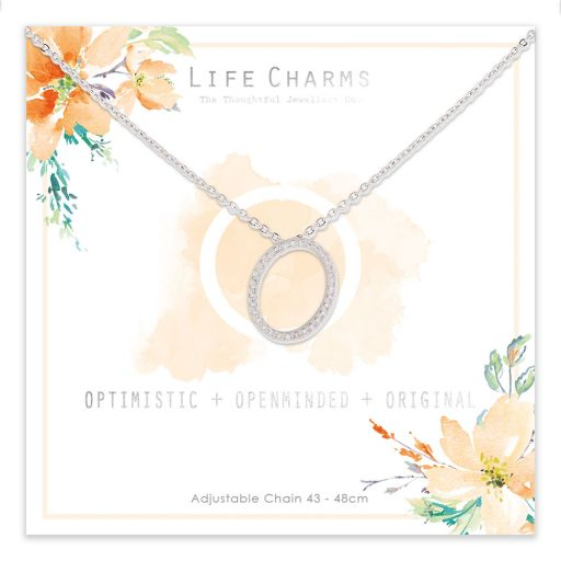483015 - Life Charms - ANO - Collier - letter O