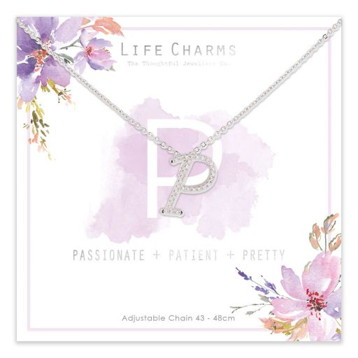 483016 - Life Charms - ANP - Collier - letter P