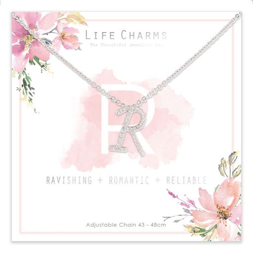 483018 - Life Charms - ANR - Collier - letter R