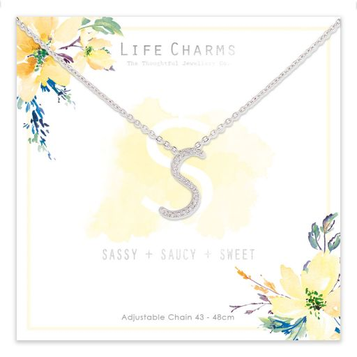 483019 - Life Charms - ANS - Collier - letter S