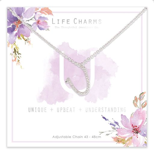 483021- Life Charms - ANU - Collier - letter U