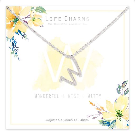 483023 - Life Charms - ANW - Collier - letter W