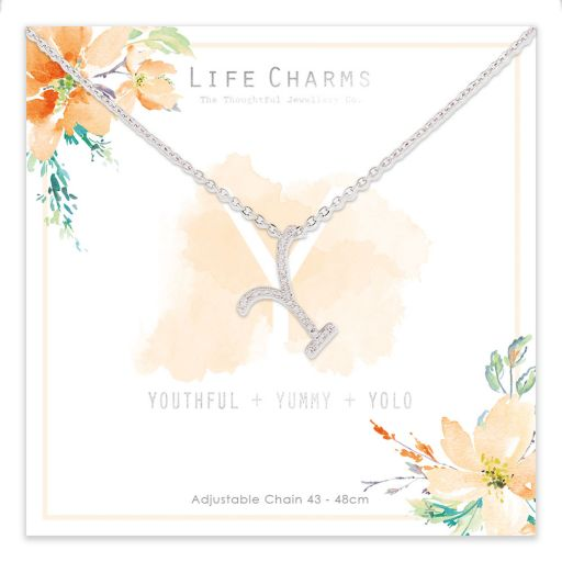 483025 - Life Charms - ANY - Collier - letter Y