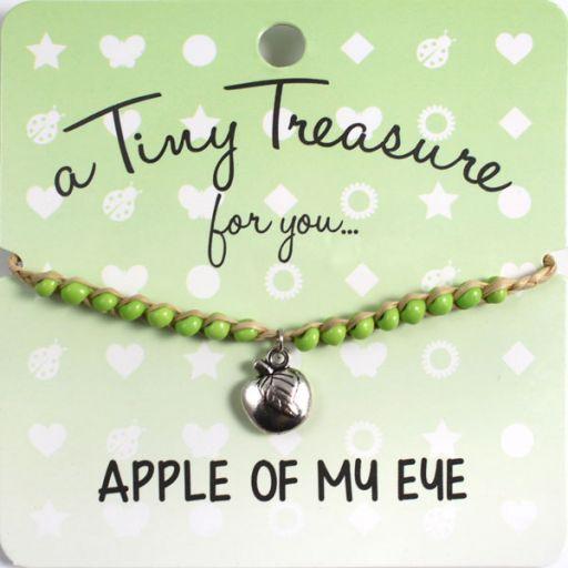 Tiny Treasure armband - Apple of my Eye