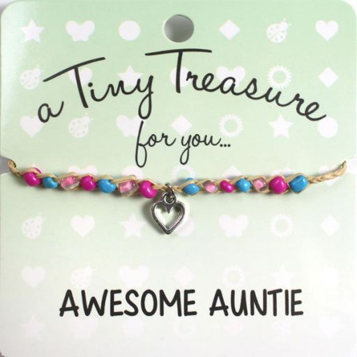 Tiny Treasure armband - Awesome Auntie