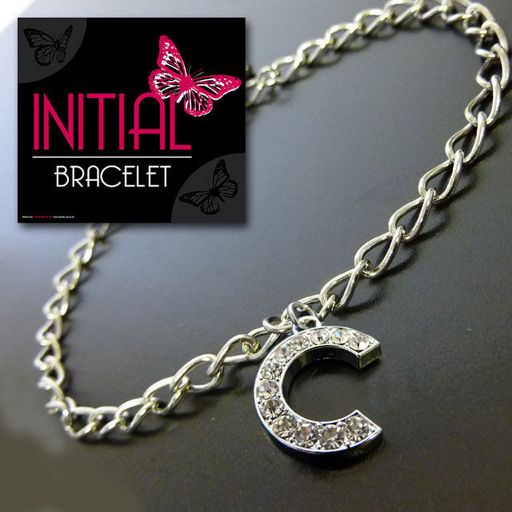 Armband - Initial Jewellery - Letter C