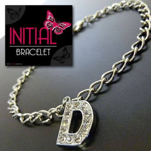 Armband - Initial Jewellery - Letter D