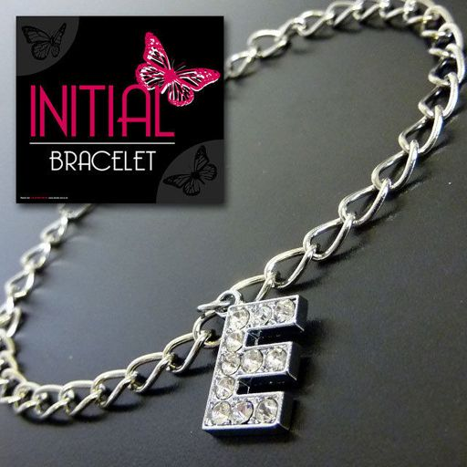 Armband - Initial Jewellery - Letter E