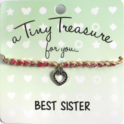 Tiny Treasure armband - Best Sister