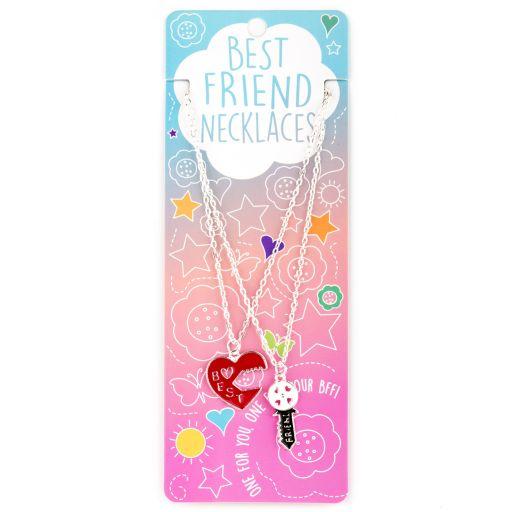Best Friend Necklace - Ketting - Key/Hart - BFN05