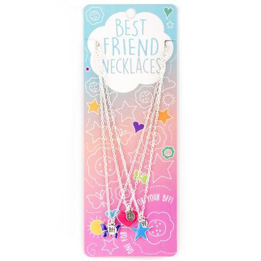 Best Friend Necklace - Ketting - Hart/Ster/Vlinder - BFN10