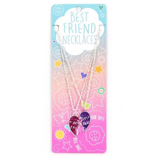 Best Friend Necklace - Ketting - Split Hart - BFN12