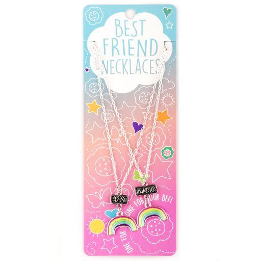 Best Friend Necklace - Ketting - Rainbows - BFN15