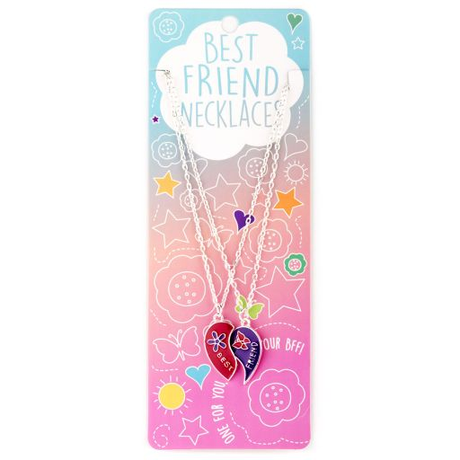 Best Friend Necklace - Ketting - Hart split - BFN16