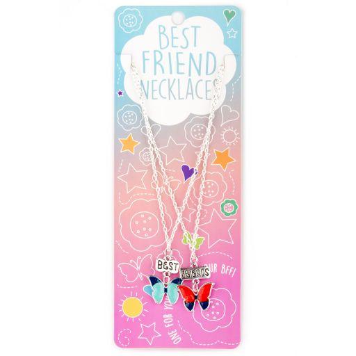 Best Friend Necklace - Ketting - Butterflies - BFN18