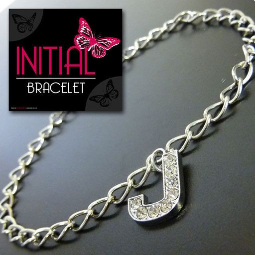Armband - Initial Jewellery - Letter J