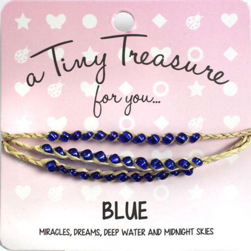 Tiny Treasure armband - Blue