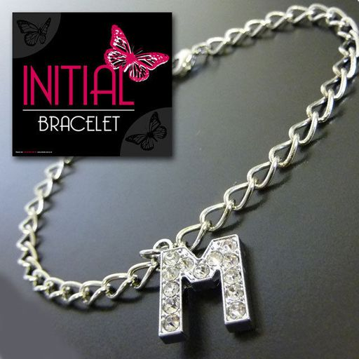 Armband - Initial Jewellery - Letter M