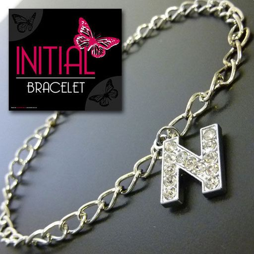 Armband - Initial Jewellery - Letter N
