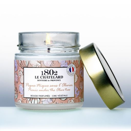 LC1802 - Candle Scented - BPROV-041 - Picnic under Olive Tree - 180 gram