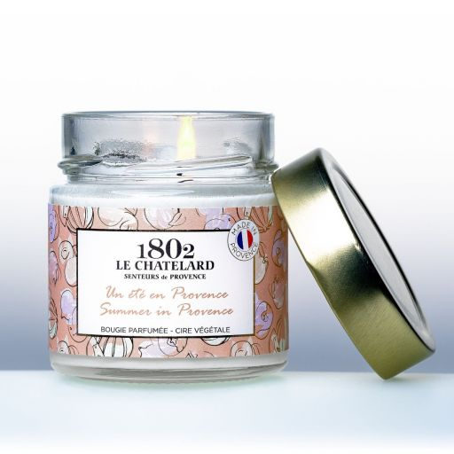 LC1802 - Candle Scented - BPROV-126 - summer in Provence - 180 gram