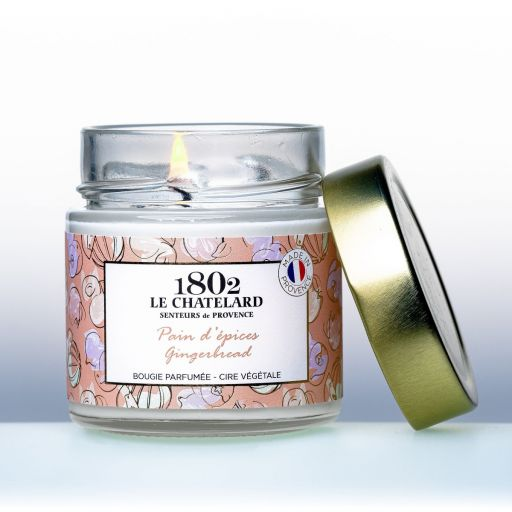 LC1802 - Candle Scented - BPROV-302 - Gingerbread -180 gram