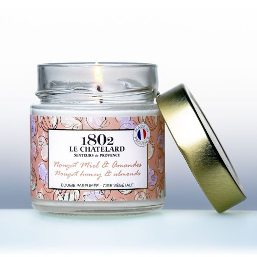 LC1802 - Candle Scented - BPROV-303 - Nougat-Honey-Almond -180 gram