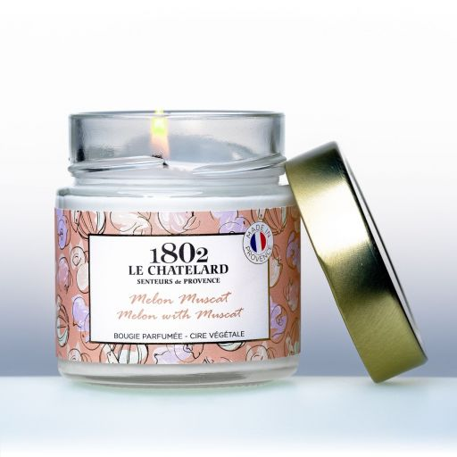 LC1802 - Candle Scented - BPROV-304 - Melon with Muscat -180 gram