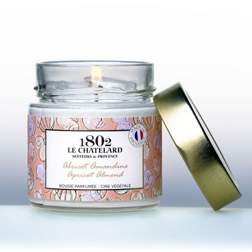 LC1802 - Candle Scented - BPROV-306 - Apricot Almond - 180 gram