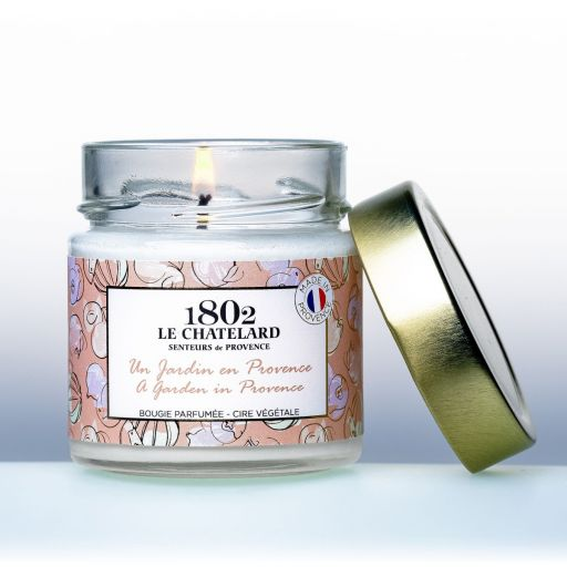 LC1802 - Candle Scented - BPROV-309 - Garden in de provence - 180 gram