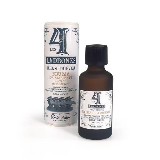 Boles d'olor - 4 DIEVEN (Los 4 Ladrones) -  Brumas geurolie 50 ml