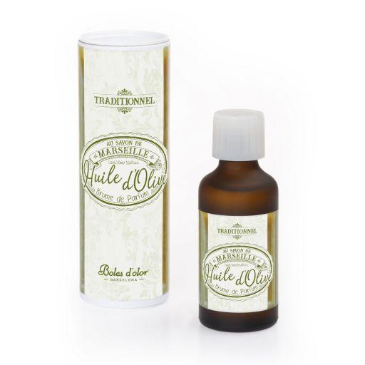Savon de Marseille Huile d'Olive - Tradional - Boles d'olor geurolie 50 ml