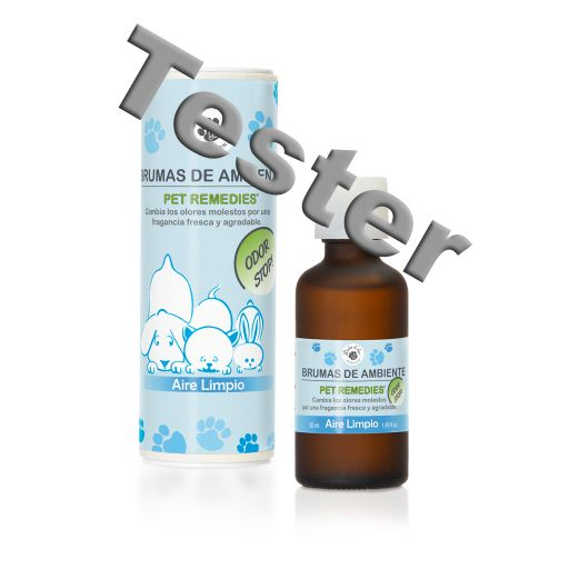 TESTER 224005 - Pet Remedies - geurolie (bruma de ambient) 50 ml - Fresh Linen (Aire Limpio)