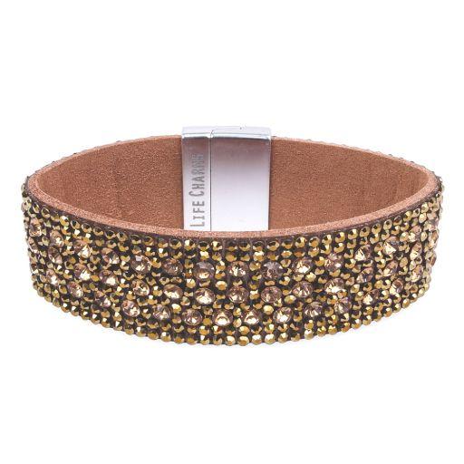 480319 - Life Charms - BT19 - Wrap Bracelet Bronze Diamant