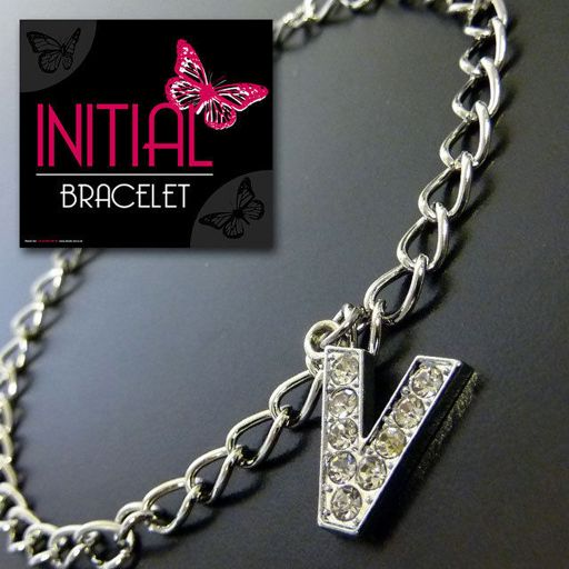 Armband - Initial Jewellery - Letter V