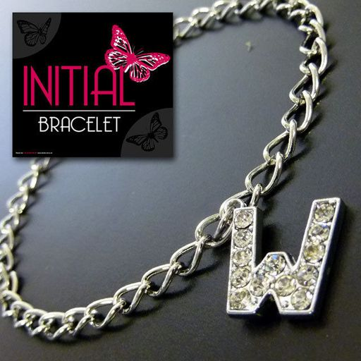 Armband - Initial Jewellery - Letter W