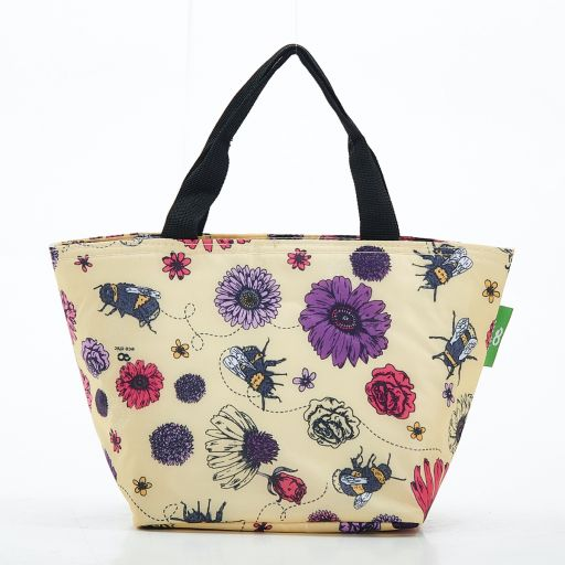 Eco Chic - Cool Lunch Bag - C02BG - Beige Bee