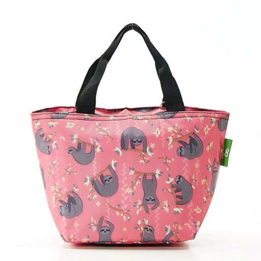 Eco Chic - Cool Lunch Bag - C22RD - Red Sloth