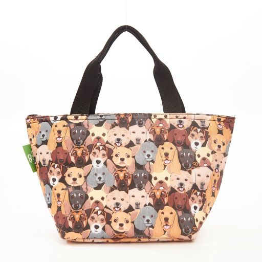 Eco Chic - Cool Lunch Bag - C36BK - Black Dogs