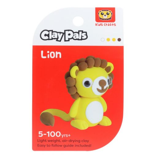 Clay Pals kleisetje - Lion (leeuw)