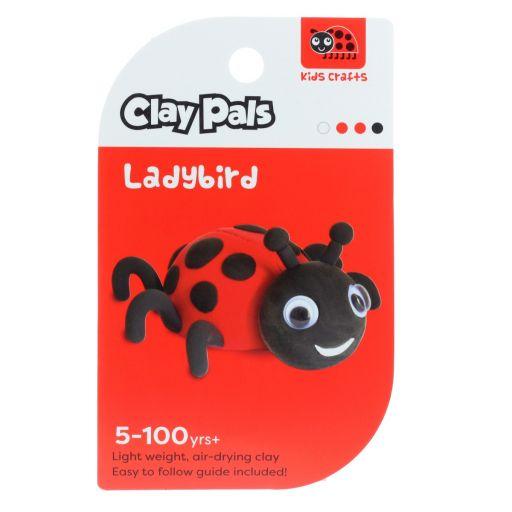Clay Pals kleisetje - Ladybird (Lieveheersbeestje)
