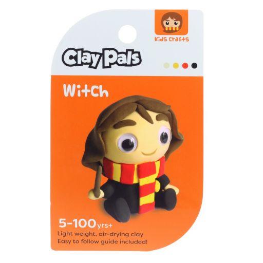 Clay Pals kleisetje - Girl Wizzard (Tovenares)
