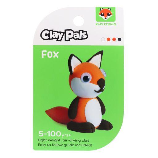 Clay Pals kleisetje - Fox (vos)