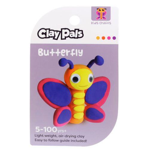 Clay Pals kleisetje - Butterfly (vlinder)
