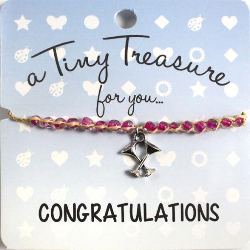 Tiny Treasure armband - Congratulations