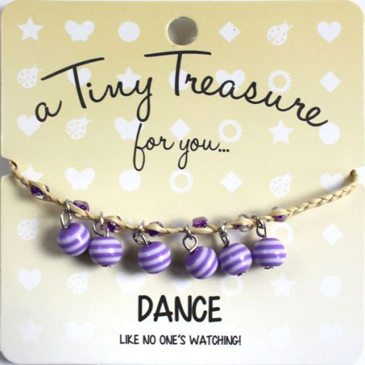 Tiny Treasure armband - Dance