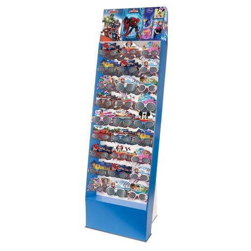 D087 - Vloerdisplay Karton Disney voor de Kinderzonnebrillen