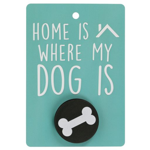 Hondenriemhanger (Pooch Pal) - DL14 - Home Is Where My Dog Is
